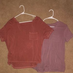 American Eagle Outfitters Tops - BUNDLE DEAL!!! 2 american eagle tops